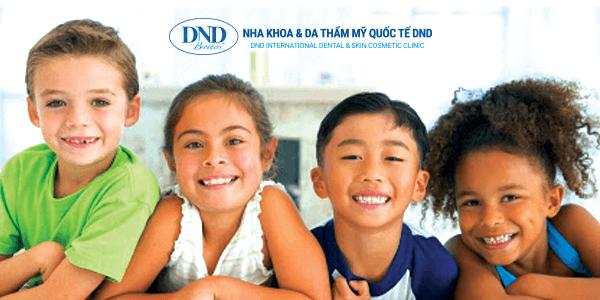 Nha Khoa Trẻ Em - Nha khoa Quốc tế DND