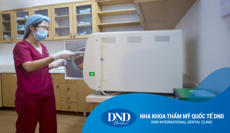 Phòng vô trùng - Nha khoa Quốc tế DND