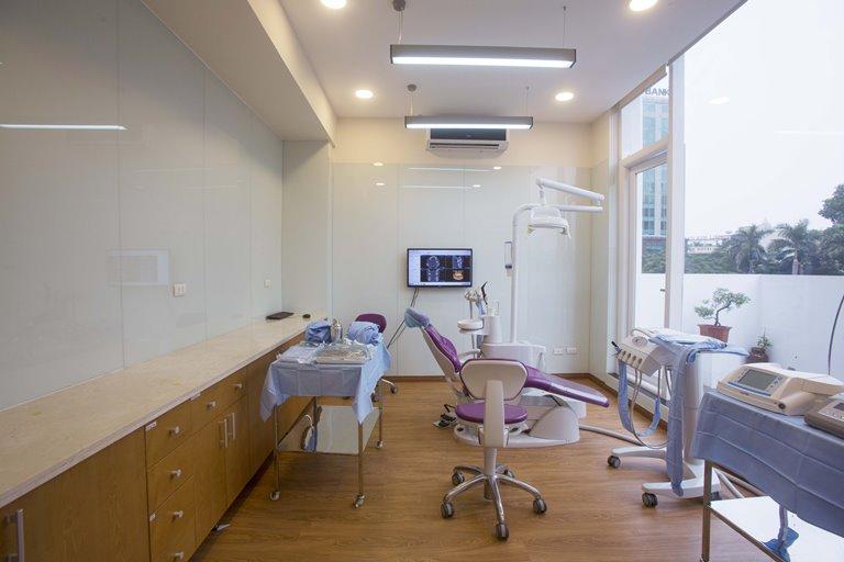 Phòng tiểu phẫu vô trùng tuyệt đối của Nha khoa Quốc tế DND
