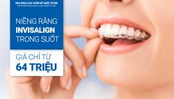 Ưu đãi 20% chi phí niềng răng Invisalign